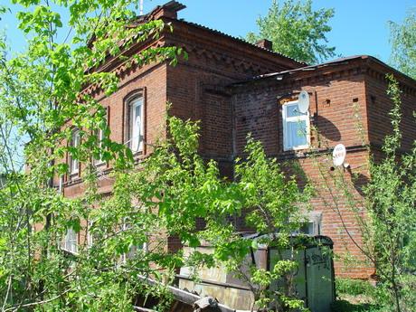 бывшая старообрядческая церковь, дом Мощевитиных
